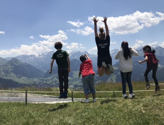 English Summer Day Camp, Club for Kids, Switzerland, Europe | Travel Gstaad