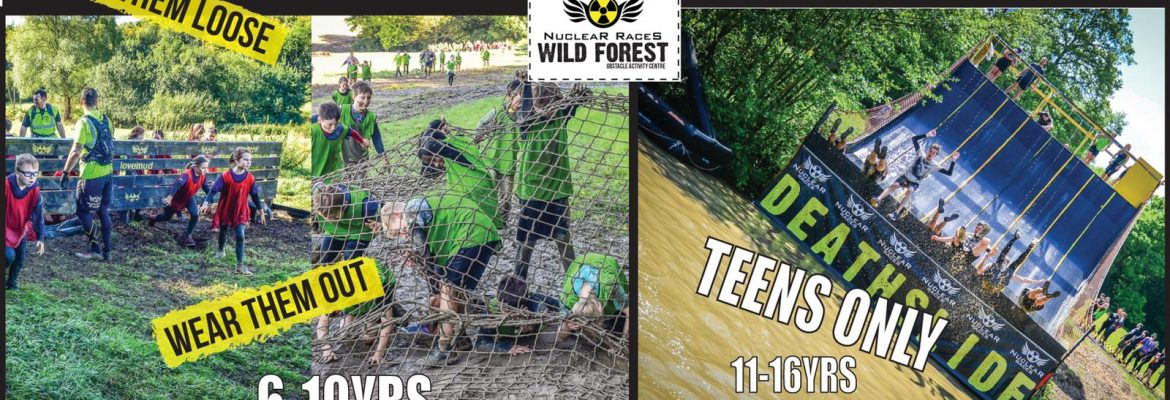 May Half Term Just Get Over It Obstacle Fun #lovemud